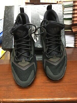finest selection dbcc6 864d6 Adidas Damian D Lillard 2 2.0 NBA Men s Basketball Shoes Gray Black Navy  Size 10