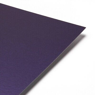 Pearlescent Paper A4 - Centura Pearl Shimmer Craft Paper Deep Purple - OFFER