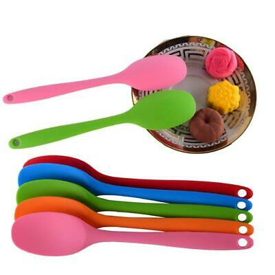 Size Silicone Spoon Spoon Long Handle High Temperature Baking Scraper Spoon