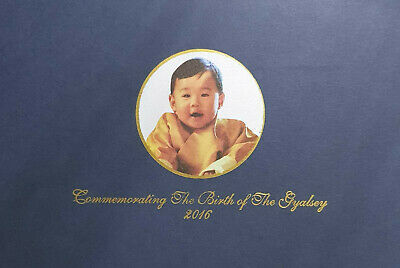 BHUTAN Commemorating The Birth Of The Gyalsey 2016 Nu 100 HRH The Crown Prince