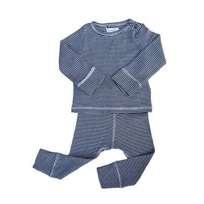 3ad7364f7 MUD PIE BABY Boys Blue Chambray Easter Suit Short Set with Bow Tie ...
