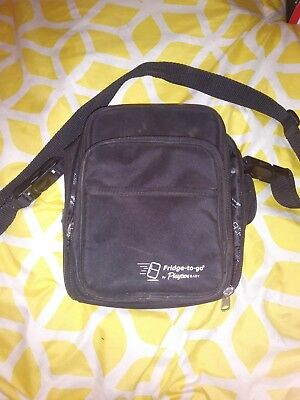 Playtex Fridge To Go Tote - Bottle Holder Insulated Bag - Black