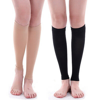 1 Pair Calf Leg Running Compression Sleeve Socks Shin Splint Support Brace Top t