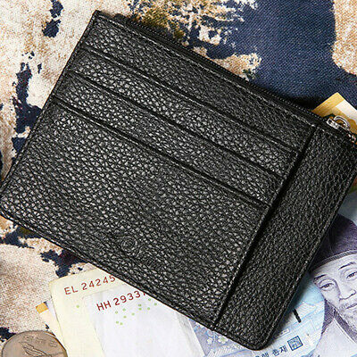e5552be0f9 Men Wallet Slim Money Credit Card Holder ID Business Small Safety Coin  Billfold