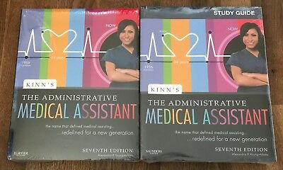 Kinn's The Administrative Medical Assistant Text/Study Guide 7th Ed. NEW SEALED
