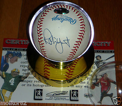 Milwaukee Brewers Robin Yount Autographed Official AMERICAN LEAGUE BASEBALL COA