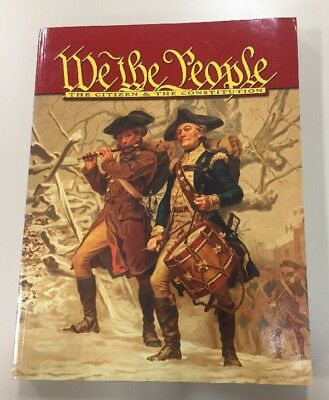 We The People: The Citizen & The Constitution Student History Textbook Very Good