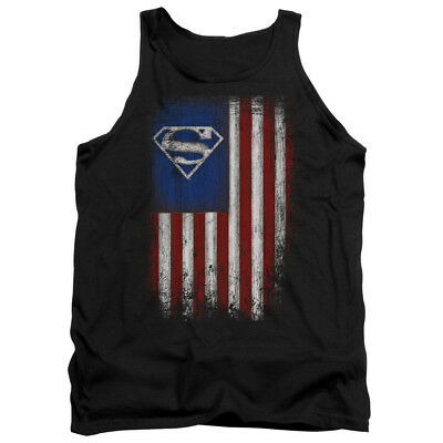 21fa94929445b SUPERMAN OLD GLORY Licensed Adult Men s Graphic Tank Top Sleeveless SM-2XL