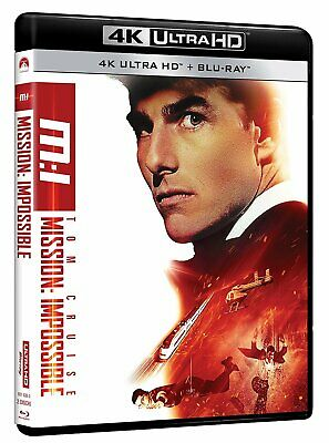 |044703| Mission: Impossible (4K Uhd+Blu-Ray) - Mission: Impossible [Blu-Ray] Im