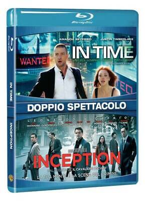  062653  Inception / In Time (2 Blu-Ray) - Inception [Blu-Ray] Importación itali