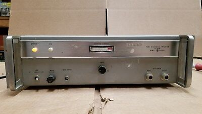 HP 493A Microwave Amplifier 4.0-8.0GHz Good!
