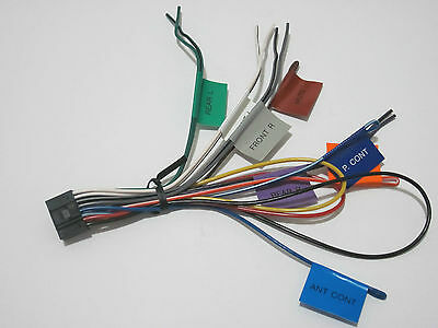 ORIGINAL KENWOOD DPX-502BT Wire Harness Dpx502Bt New Oem W6 ... on