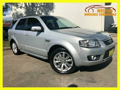 2011 Ford Territory SY MKII Ghia Wagon 5dr Spts Auto 6sp, AWD 4.0i Silver A