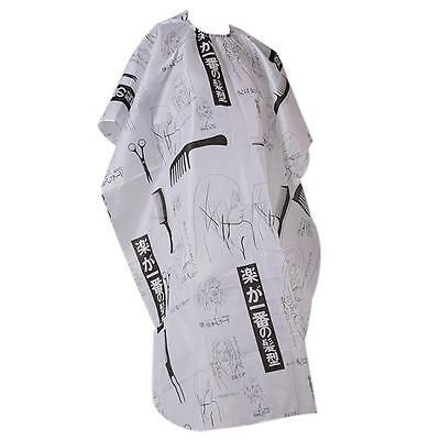 Cutting Hair Waterproof Cloth Salon Barber Gown Cape Hairdressing Hairdresser WO