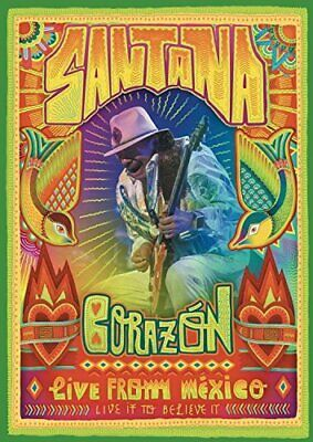  074241  Santana - Corazon: Live From Mexico - Live It To Believe It [DVD]  Nuev
