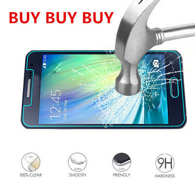 Premium Tempered Glass Screen Film Protect For Samsung Galaxy A3 A3100 2016 ZX4