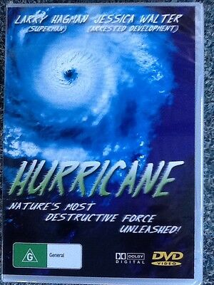 HURRICANE - Nature's most destructive force unleashed - NEW DVD -All Region #365