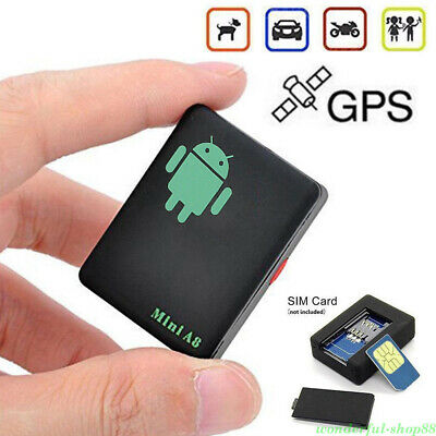 A8 GPS Tracker Locator Car Kid Global Tracking Device Anti-theft Outdoor
