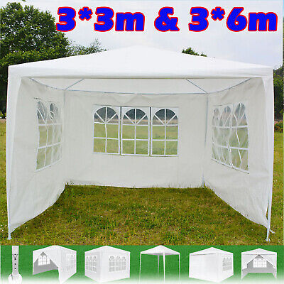 Heavy duty 3 meter gazebo marquee outdoor party tent gazibo gazeebo with sides