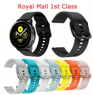 Replacement Strap Soft Silicone Watch Band For Samsung Galaxy Watch Active 42mm