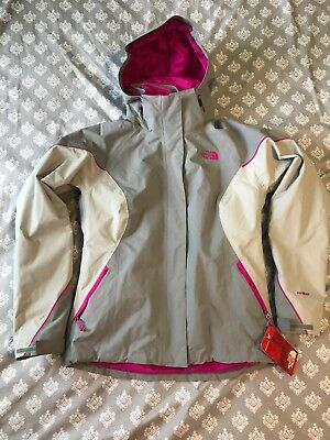 c6d82f079 THE NORTH FACE IMPERFECT Women's Cinnabar Triclimate Blue Small ...