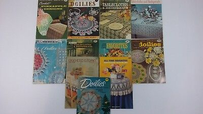 Lot of 95 Vintage Craft Magazines, Quilters, Embroidery, Crochet, Doileys, 1930s