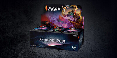 MTG - M19 - 2019 Core Set Booster Box *ENGLISH* Sealed *CC*