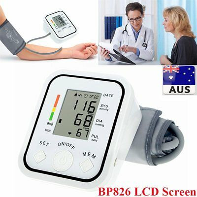 Digital Electronic Blood Pressure Monitor Upper Arm Sphygmomanometer A  kf