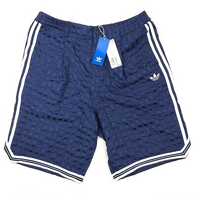 c14ee2d64deed NEW Adidas Originals Checkered Shorts Casual Tonal Check Trefoil • Large