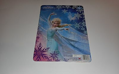 """Disney Frozen Toy Puzzle 16 Piece Girls Card Board 11.5""""x 8.5"""" Ages 3+ NEW"""
