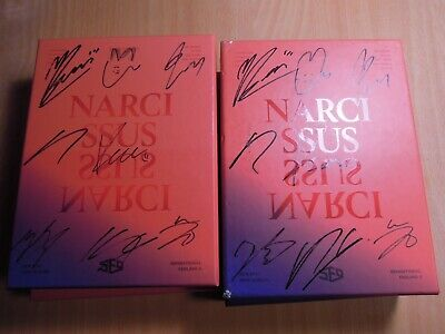 SF9  - NARCISSUS (6th Mini promo) with Autographed (Signed)