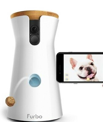 WiFi Pet Dog Camera with 2 Way Audio and Night Vision
