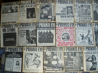 Old Issues of Private Eye - 26 issues from 23 June 1967 to 7 June 1968