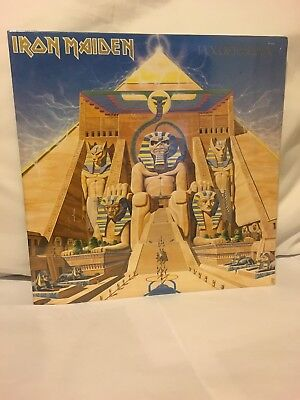 Iron Maiden Powerslave Lp 1984 First Pressing Sealed Near Mint Beautiful Copy!!