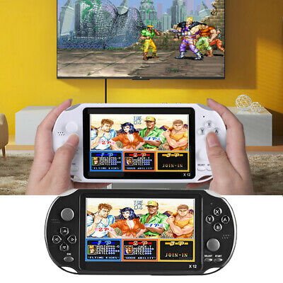 X12 8GB/16GB 128Bit Portable Handheld Game Console Player Built-in 2500 Games