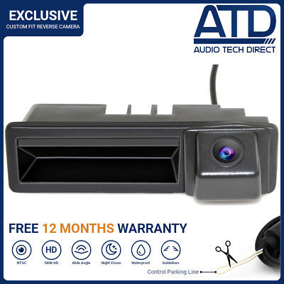 Direct Fit Boot Handle Reversing Rear Reverse Camera For Audi A4 S4 A6 S6 RS6 Q7