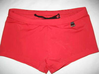 HOM BEACH FUN Marina Collection RED BOXER TRUNKS size XL