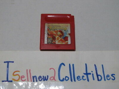 Pokemon: Red Version (Nintendo GameBoy,1998) **** PLEASE READ ****