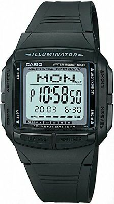 Casio Digital Casual Watch Data Bank Db-36-1Ajf 13 languages available F/S
