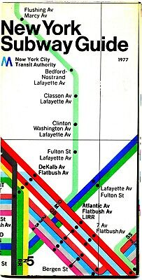 1918 NYC Subway Art Deco Historic Manhattan Map 20x36