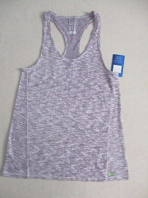 d1fceb38495 NWT CHAMPION AUTHENTIC Womens Racerback Striped Orange/Pink Tank Top ...