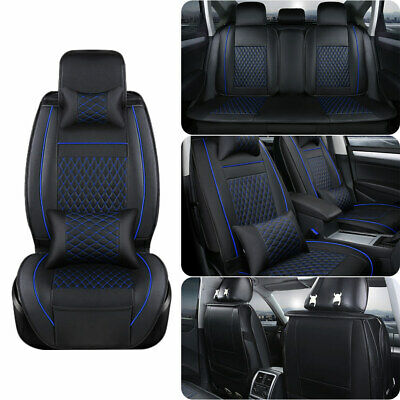 Astounding Universal Car Seat Cover Full Set Front Rear 5 Seat Pdpeps Interior Chair Design Pdpepsorg