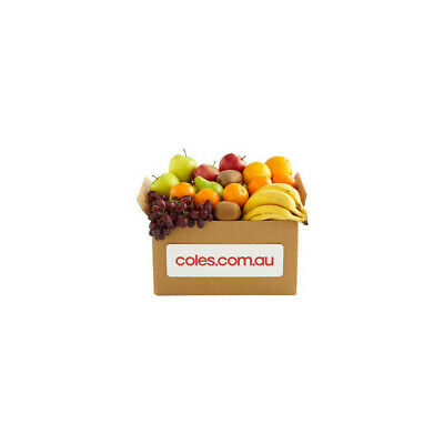 NEW Coles Seasonal Healthy Delicious Assorted Hand Picked Fruit Box Snack Small