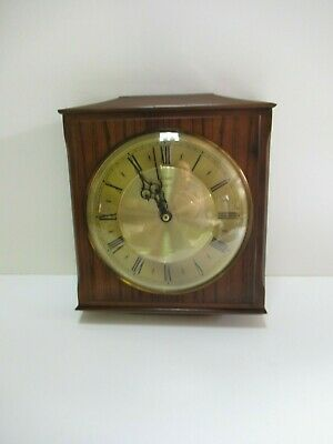 vintage Metamec Wooden wall clock made in England