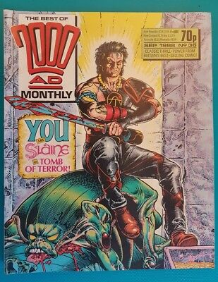2000Ad Monthly #36