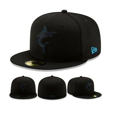 buy popular 87f46 a38d8 Miami Marlins New Era Clubhouse Collection 59FIFTY Fitted Hat