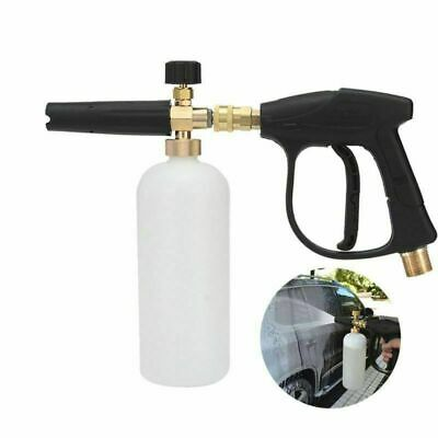 High Pressure Snow Foam Cannon Washer Jet Spray Lance Bottle For Car Cleaning UK
