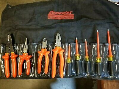 Cementex  9 Piece High Voltage Electrical Tool Set