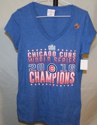half off 701a6 5eadd CHICAGO CUBS WORLD Series Champions Dri Fit Nike T-Shirt ...