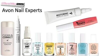 Avon Nail Experts Treatments~Cuticle Care/Strengthening/Top Coat/French Manicure